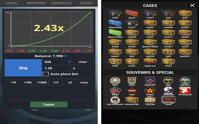 case simulator 2 играть бесплатно открывать все кейсы
